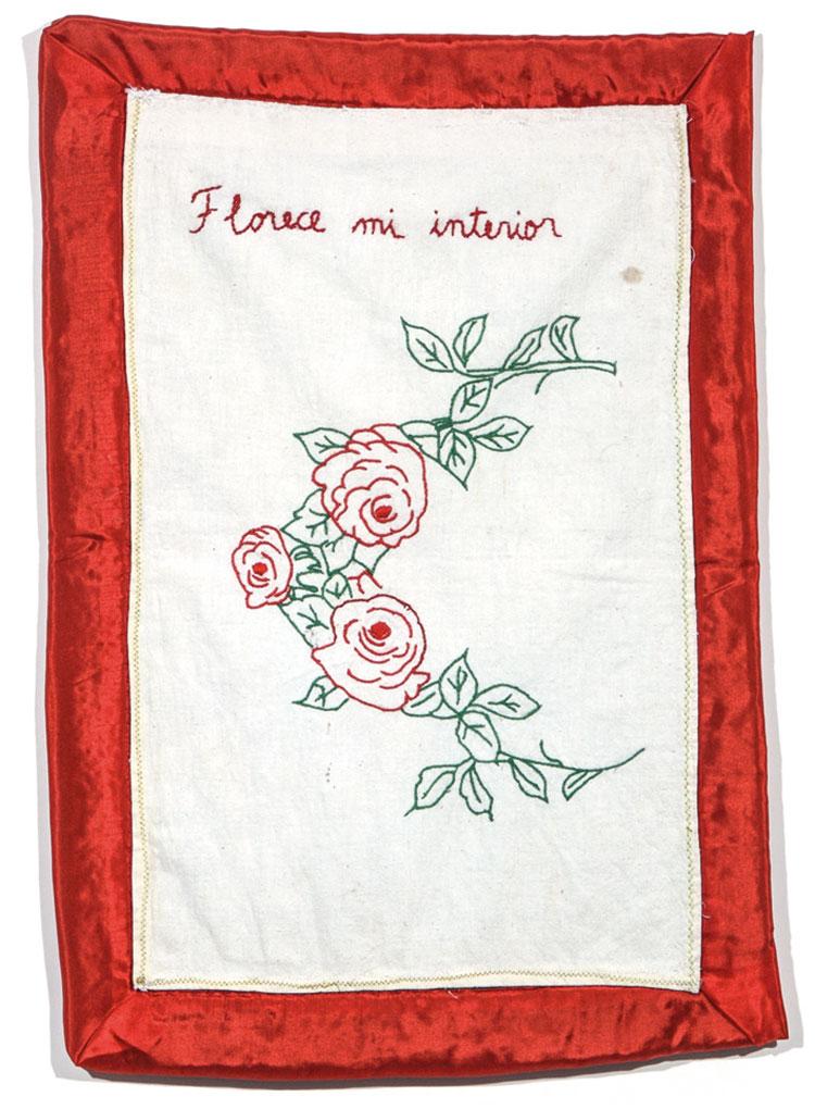 Feliciano Centurión. Flores del mal de amor, 1996.