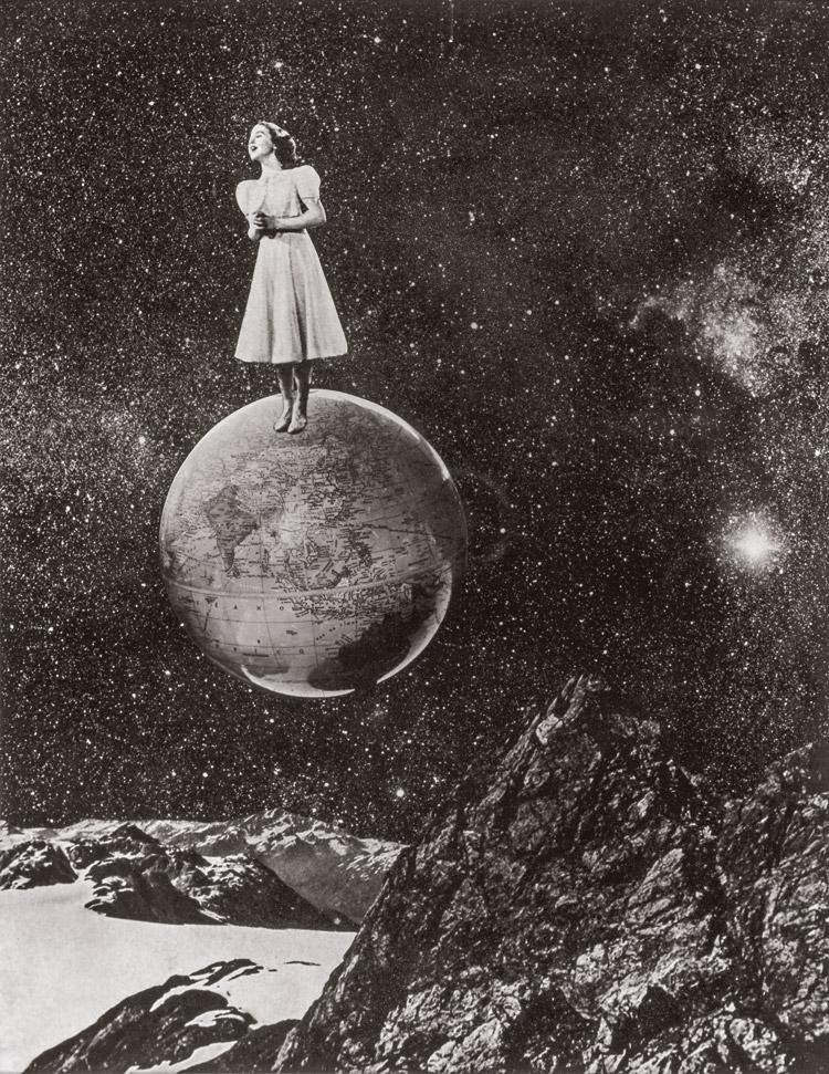 Grete Stern. Sin título. Los sueños de triunfo y dominación, 1949.