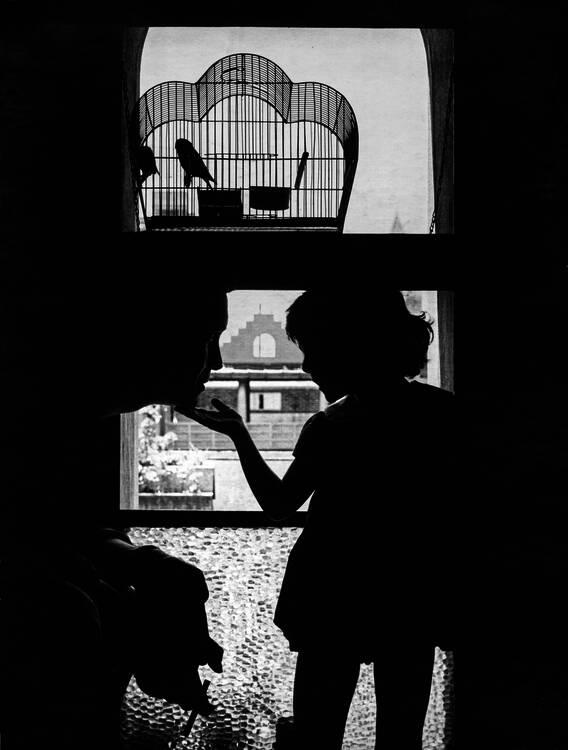 Anatole Saderman. Carlos Alonso y Paloma, ca. 1960.