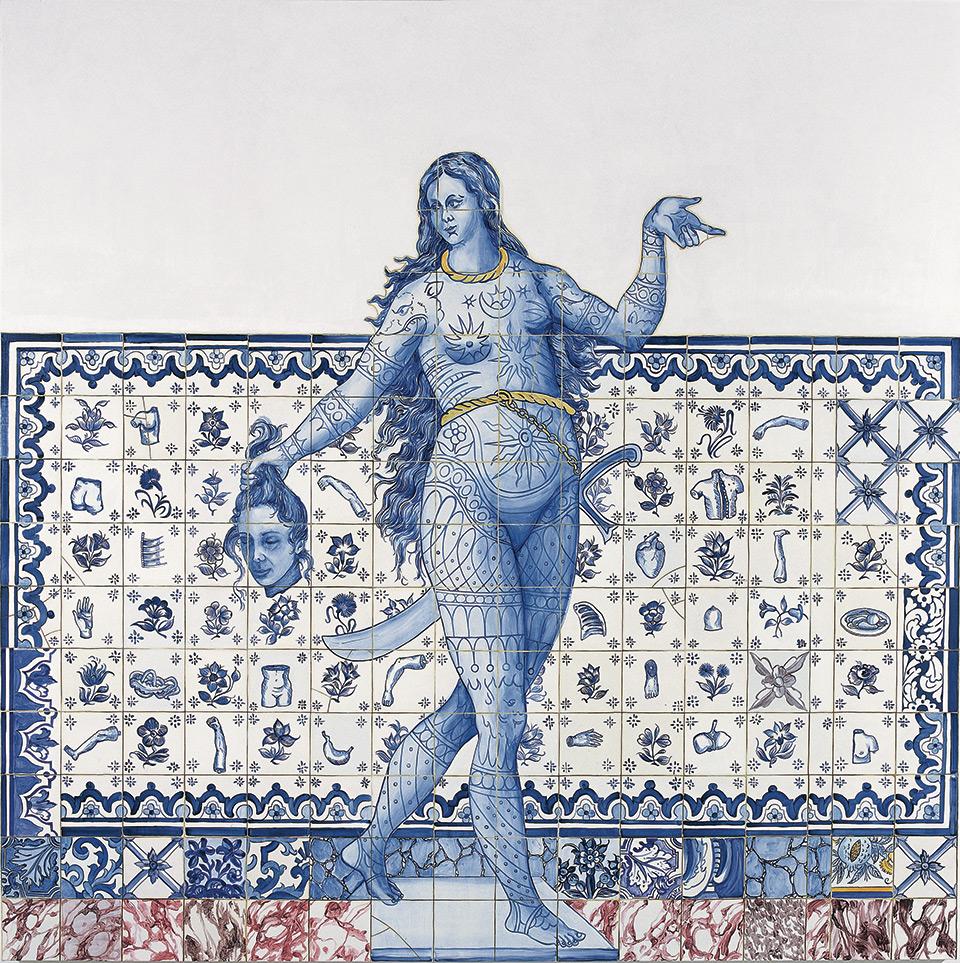 Adriana Varejão. Figura de convite III [Figura de entrada III], 2005.